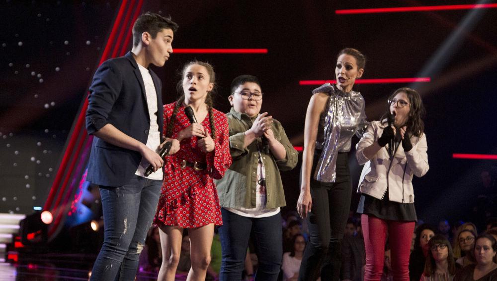 La Voz Kids 2019 - Temporada 1 - Melendi elige a su segundo finalista | Semifinal