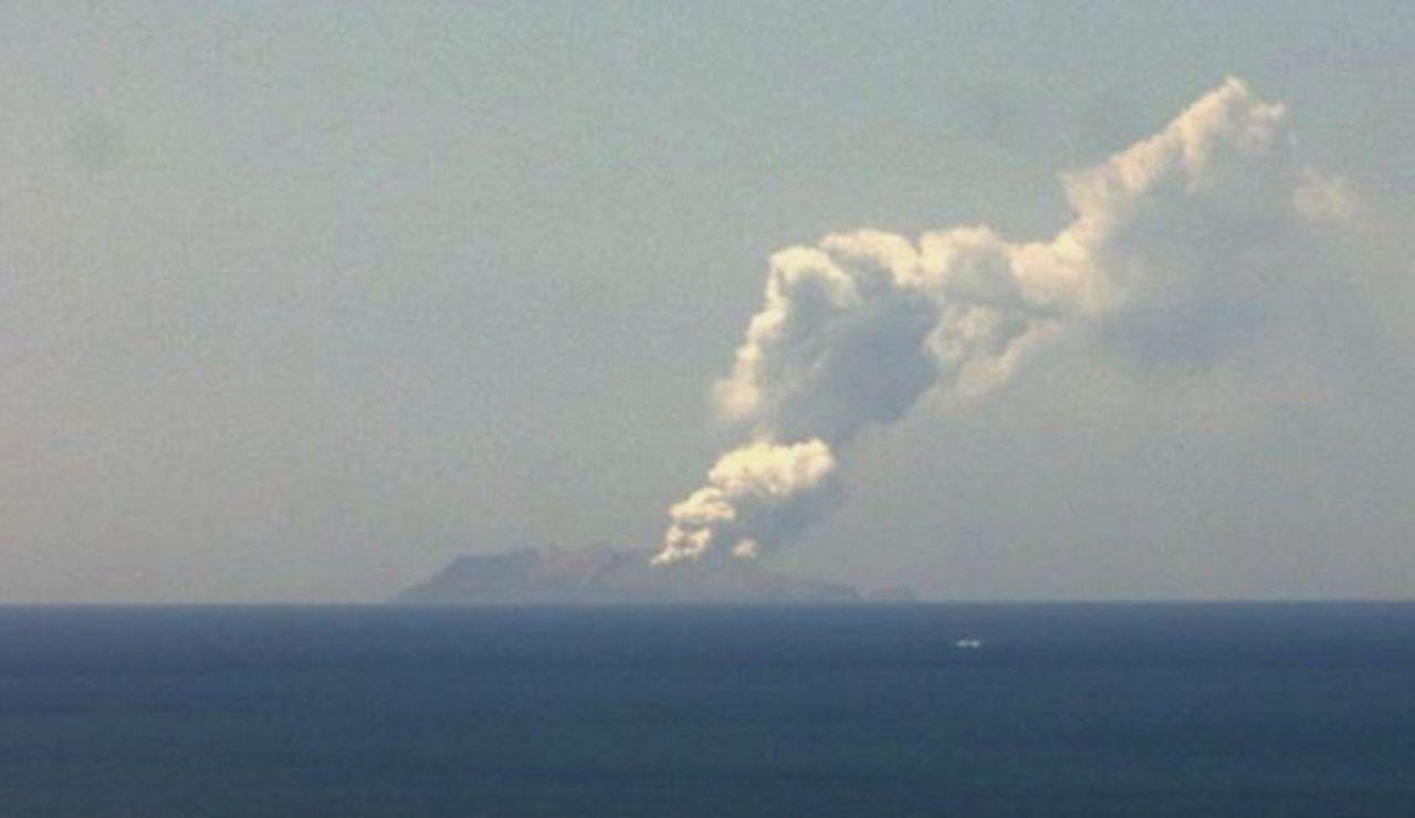Volcán Whakaari