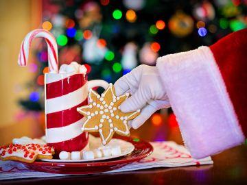 La mano de Papá Noel