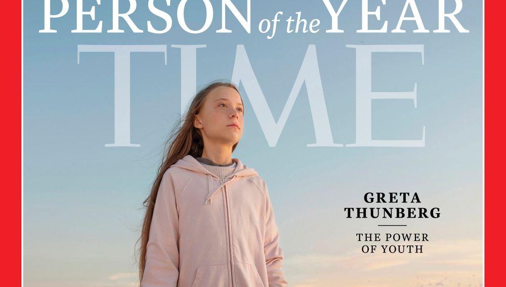 """Greta Thunberg, """"persona del año"""" para la revista Time"""