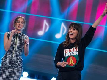 Belén Cuesta y Silvia Alonso prueban en 'El Hormiguero 3.0' el karaoke más extraño de su vida