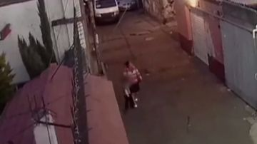 Imágenes del secuestro de la niña asesinada en México