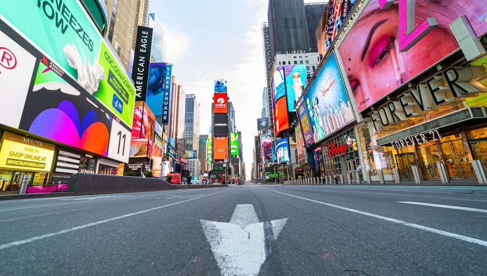 Un quinto de la población de Nueva York se marcha por el coronavirus