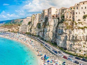 Playa en Italia