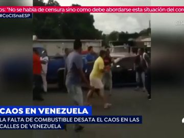 La falta de combustible desata el caos en las calles Venezuela