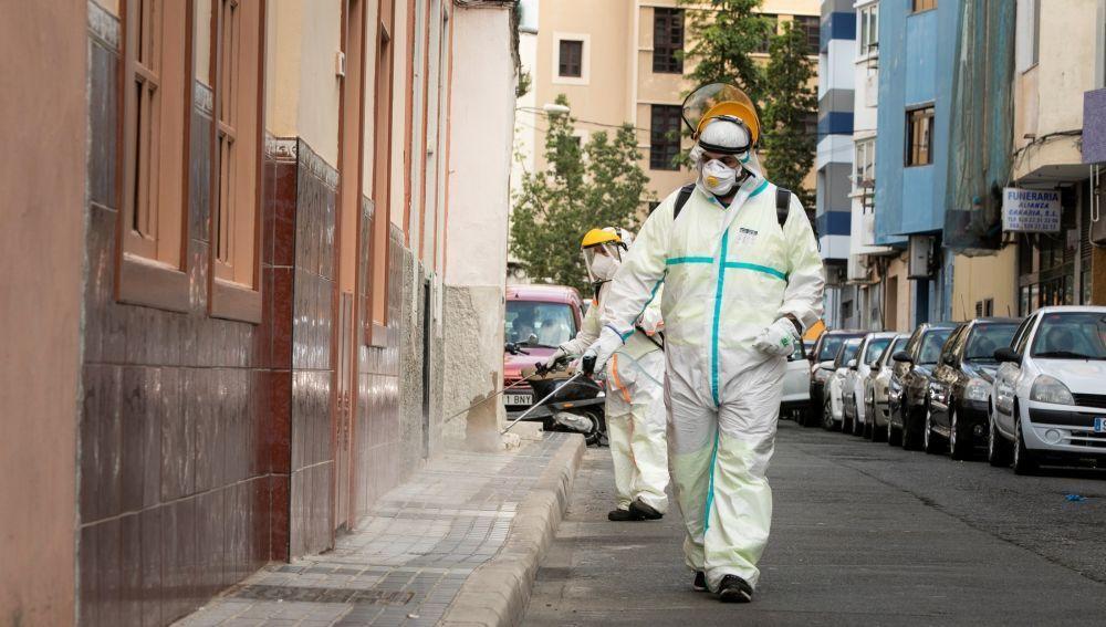Desinfección de edificios