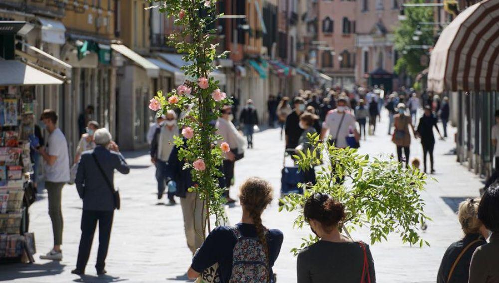 Italia desescalada