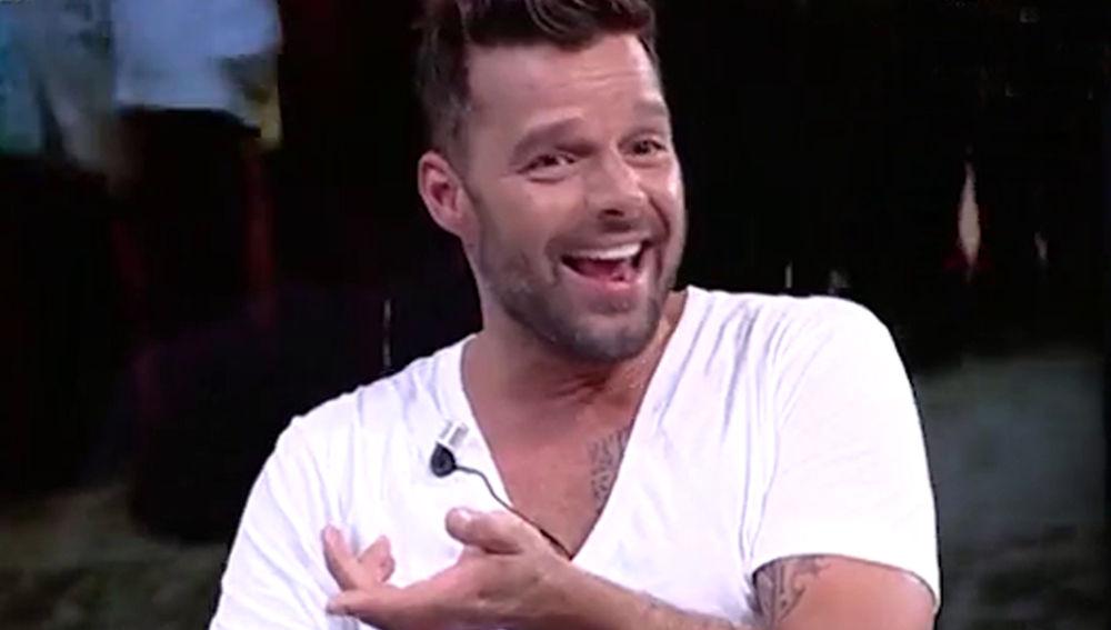 Ricky Martin en 'El Hormiguero 3.0'