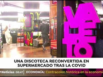 El mayor local de ocio de Perú, reconvertido en supermercado