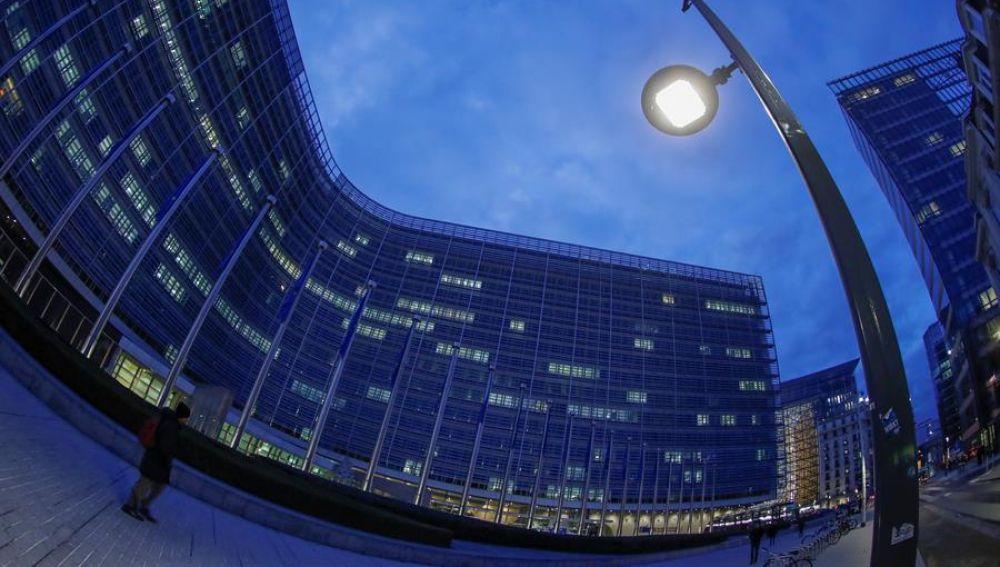 Vista de la sede del Consejo Europeo en Bruselas (Bélgica)
