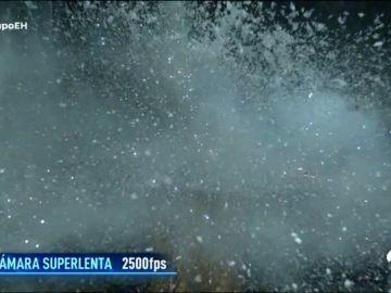 Tormenta de granizo y una explosión congelada con Marron en 'El Hormiguero 3.0'