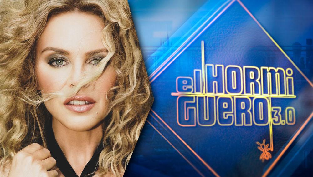 El jueves, la cantante Kylie Minogue llenará 'El Hormiguero 3.0' de ritmo
