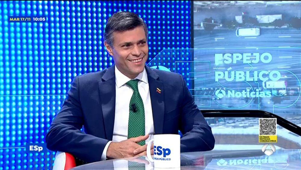 """Leopoldo López: """"en Venezuela hay mucha oscuridad en muchos aspectos"""""""