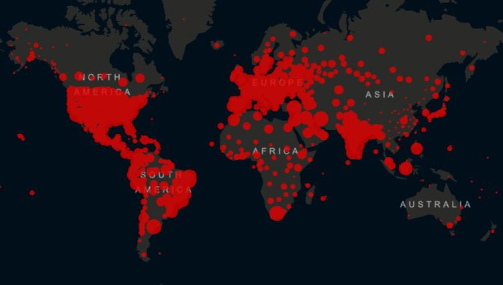 Fallecidos Covid en el mundo