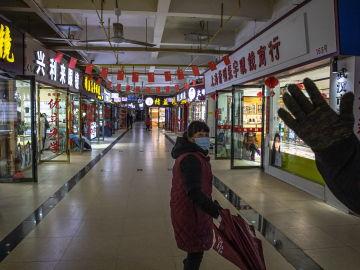 Mercado de pescado de Wuhan en el que supuestamente se detectaron los primeros casos del coronavirus