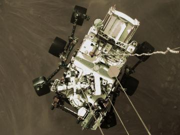 Primeras imagenes en color de Marte captadas por Perseverance