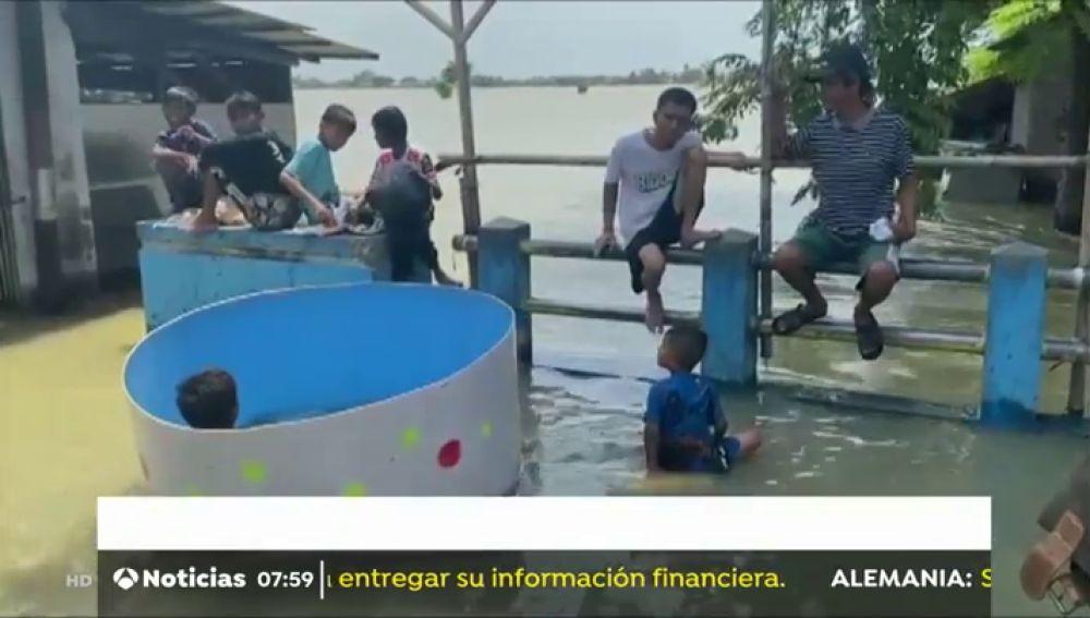 Emergencia climática en Brasil e Indonesia por las inundaciones