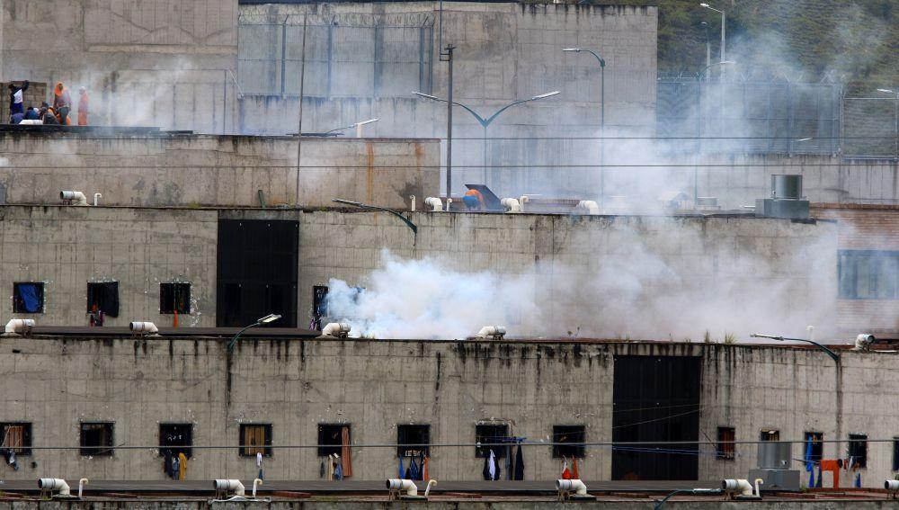 Vista de la cárcel del el Turi hoy, en la ciudad de Cuenca (Ecuador)