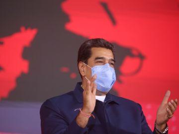 Nicolás Maduro, durante un acto de gobierno