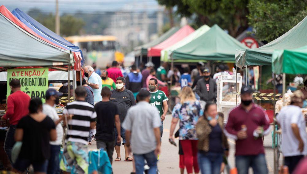 Siguen aumentando los fallecidos por coronavirus en Brasil