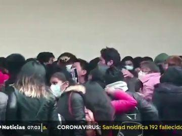 Siete jóvenes mueren tras accidente durante una asamblea en una universidad de Bolivia