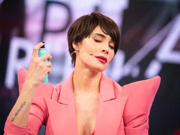 Pilar Rubio deja en shock a Pablo Motos y David Bustamante: pecas, hombreras y barbas perfiladas