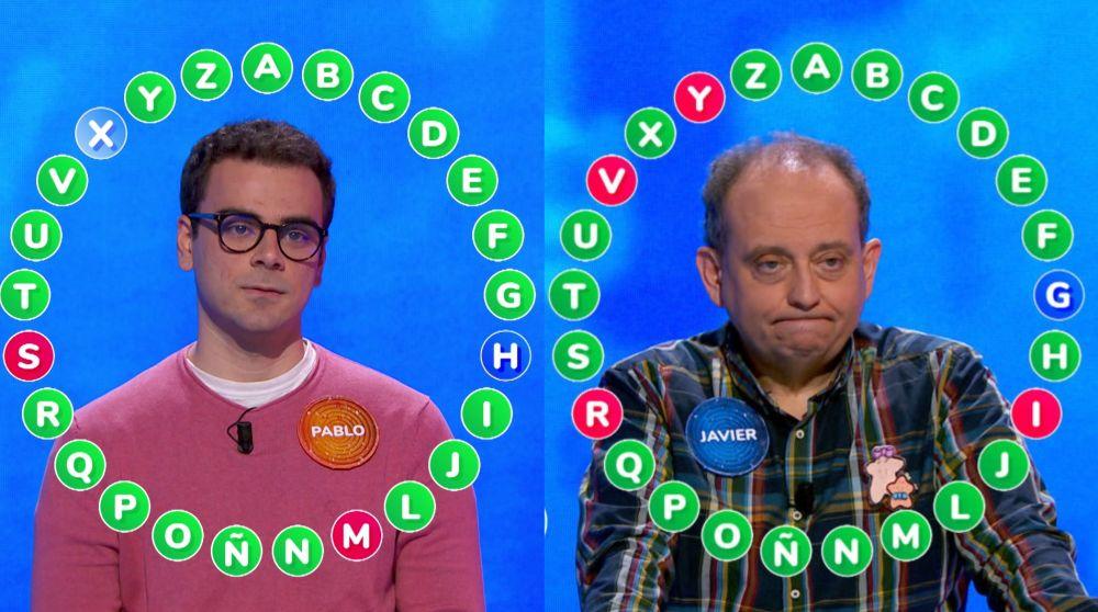 Pablo y Javier en 'El Rosco'