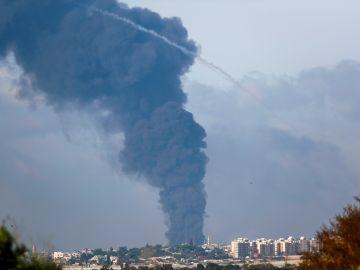 Conflicto Israel Palestina, bombardeo