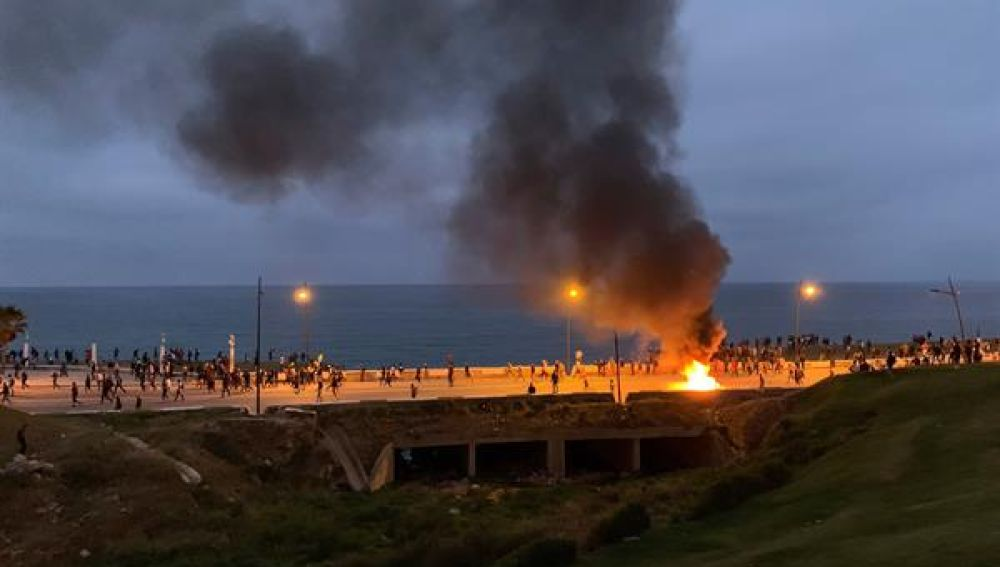 Disturbios en Castillejos