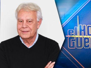 Felipe González, por primer vez en 'El Hormiguero 3.0', el miércoles 26 de mayo