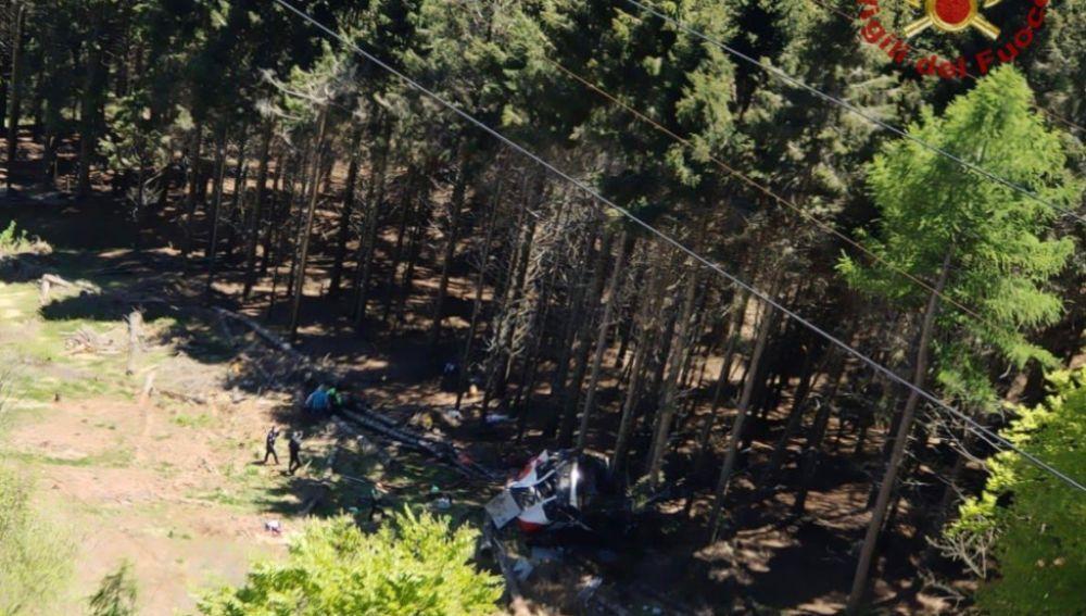 A3 Noticias Fin de Semana (23-05-21) Ocho muertos y dos heridos graves en la caída de un teleférico en Italia