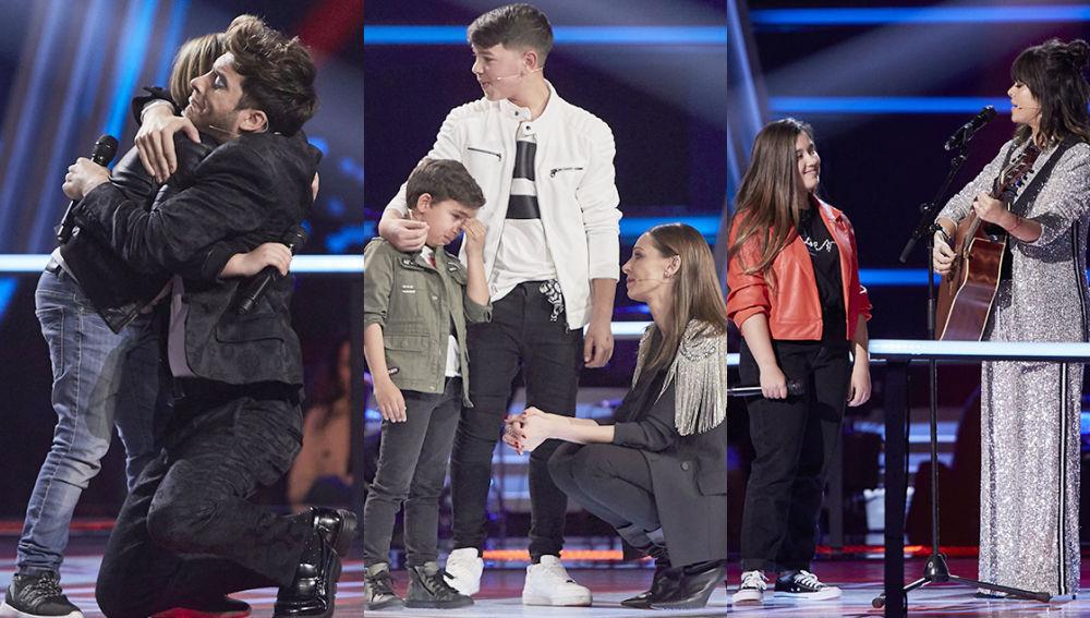 Conoce a los 16 semifinalistas de 'La Voz Kids' tras una noche de intensas emociones y duras despedidas