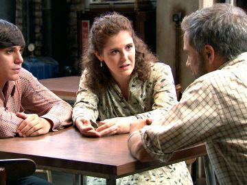 Fabián y Virginia animan a un abatido Gorka en el peor momento de su vida