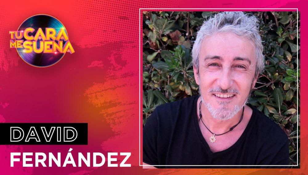David Fernández, nuevo concursante de la novena edición de 'Tu cara me suena'
