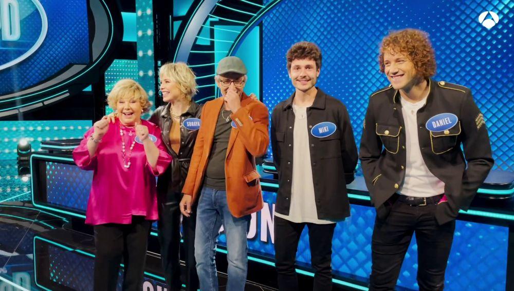 """El equipo 'Eurovision': """"nos merecemos ganar 'Family Feud', somos más sufridores"""""""