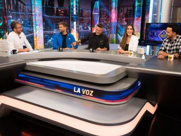 Revive la entrevista completa de los coaches de 'La Voz'