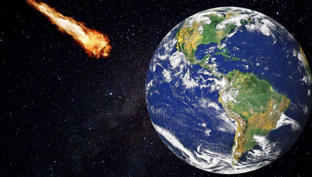 Un meteorito pasa por el sur de la península a 72.000 km/hora
