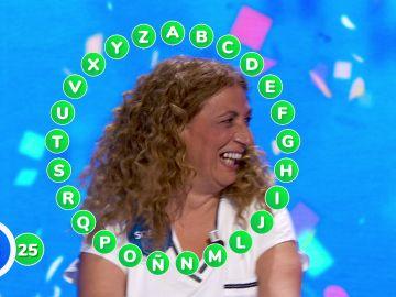 Sofía Álvarez gana 466.000 euros en 'El Rosco' de 'Pasapalabra'