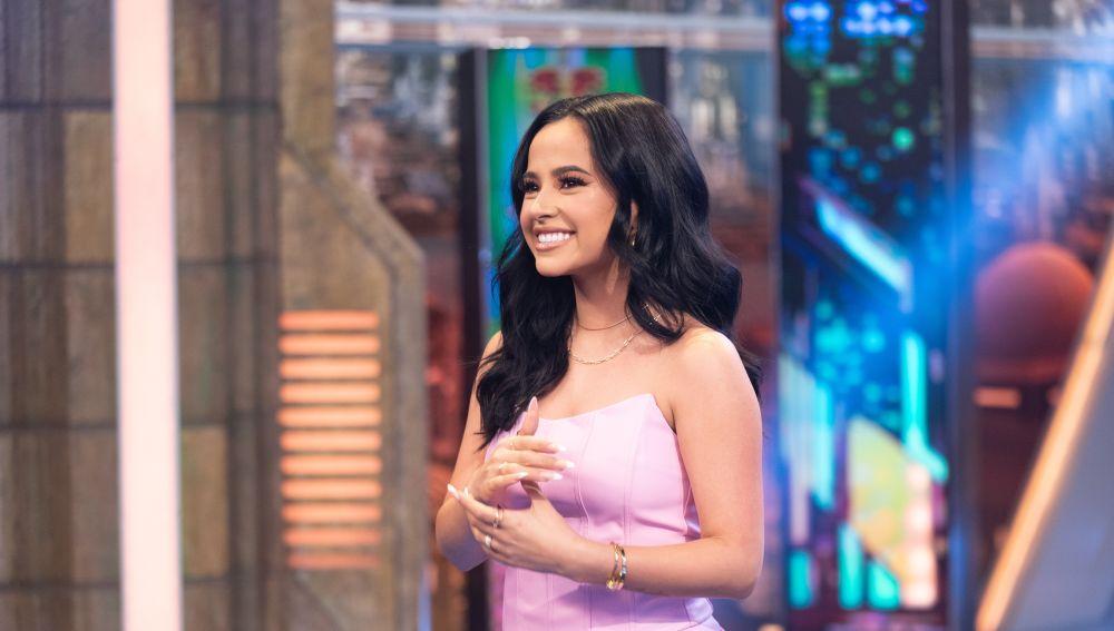 Disfruta de la entrevista completa a Becky G en 'El Hormiguero 3.0'