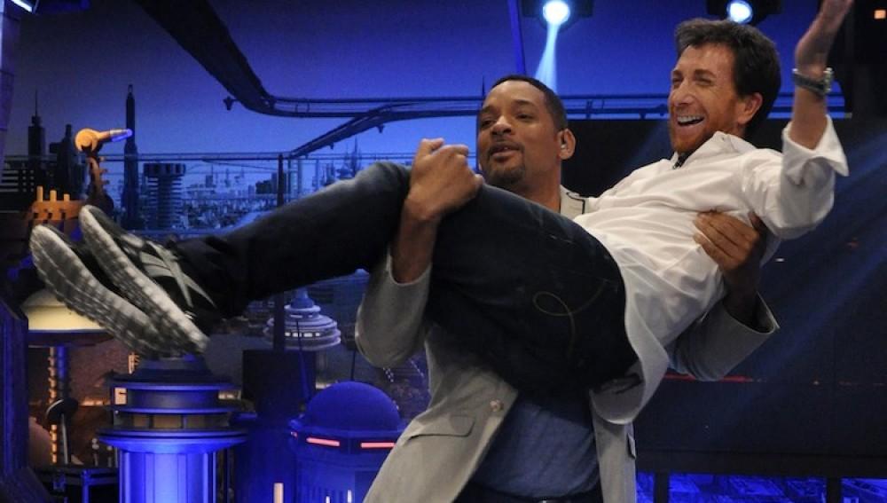 Will Smith y Pablo Motos en El Hormiguero