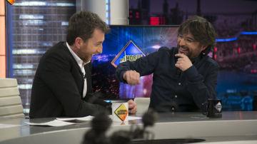 Joaquín Reyes desvela a Pablo Motos y a Jordi Évole, en 'El Hormiguero 3.0', el encuentro con la Policía tras ser confundido con Puigdemont