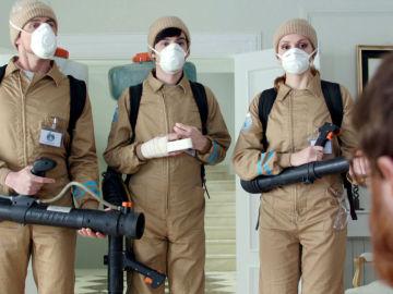 El 'cuerpo de élite', exterminadores de plagas para completar la misión