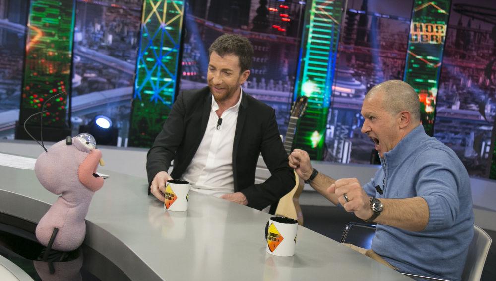 Trancas y Barrancas someten a Antonio Banderas en 'El Hormiguero 3.0' a las preguntas jamás reveladas