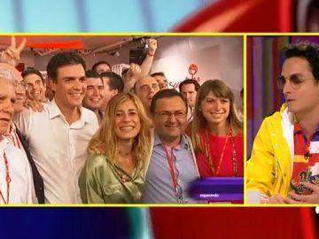 <p>Josie evalúa el estilo del nuevo presidente de Gobierno de España y su mujer</p>