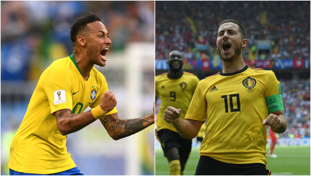 Brasil - Bélgica, partido de cuartos de final del Mundial de Rusia 2018