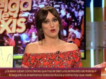 """Ana Morgade: """"Taxista D'or Ciudad de manifestaciones"""""""