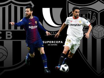 Barcelona - Sevilla de la Supercopa de España en Radioestadio