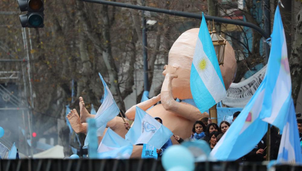 Argentina rechaza despenalizar el aborto