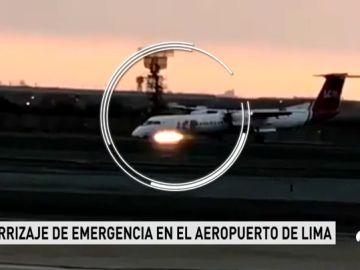 Un fallo en el tren de aterrizaje pone en peligro un avión en Perú