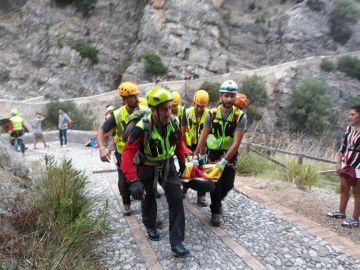 Rescate y tragedia en el río Raganello, en Italia
